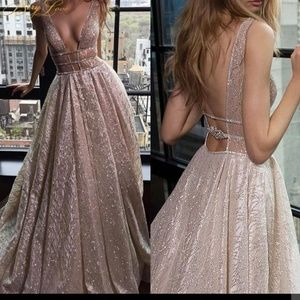 BeryLove Sparkle Elegant Formal Evening Dresse